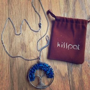 Kisspat Tree of Life necklace